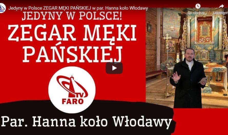 Jedyny w Polsce Zegar Męki Pańskiej – relacja ks. Marka Uzdowskiego